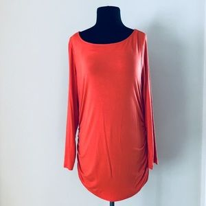 ❗️Soft Surroundings Orange Blouse MSRP $118!